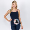 Echoes Top Shown In Navy
