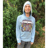 MEN'S NO TIME HOODY Cotton Hooded Men's Sweat Shirt With Print