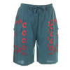 MYCRO SHORTS Men's Cotton Cargo Short Solid w/ Print  Donut & SYF