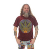 POT LEAF NO TIME T-SHIRT Cotton Pot Leaf Men's T-Shirt