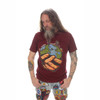 HOLDING EARTH NO TIME T-SHIRT Cotton Holding Earth T-Shirt