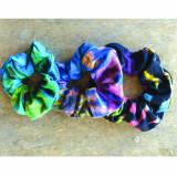 Rayon Spandex Mudmee Tie Dye Hair Scrunchie