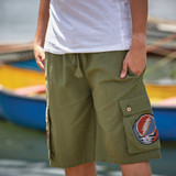 REUBEN SHORTS Cotton Men's Cargo Grateful Dead Shorts With SYF Embroidery