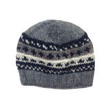 Hippie Accessories: Yak Wool Knitted Cap With Fleece Lining