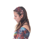 Rayon Crepe Headbands With Assorted Traditional Indian Prints