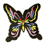 Embroidered Patch Butterfly (6 inches)
