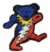 Embroidered Patch Aiko Bear With Bolt (6 inches)