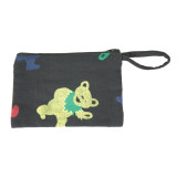 Grateful Dead Cotton 4x6 Coin Purse With Bear, Bolt Or SYF Print