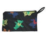 Grateful Dead Cotton 10x6 Coin Purse with Bear, Bolt or SYF Print
