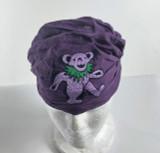 Bear Headband Shown In Purple-Bear Varies In Color