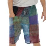 KELLY SHORTS  Ram Nam Overdye Men's Patchwork Shorts