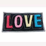 Medium Embroidered Patch Love (6 inches)