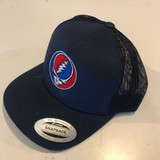 Embroidered Steal Your Face Otto Flex Fit Black