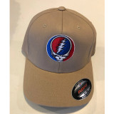 Embroidered Steal Your Face Otto Flex Fit Hat-Beige