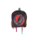 Grateful Dead Cotton Stonewash Razor Cut Backpack with Tie Dyed Back and SYF Applique and Two Side Pockets