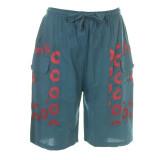 MYCRO SHORTS Men's Cotton Cargo Short Solid w/ Print  Phish Donut & Grateful Dead SYF