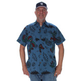 SHAKEDOWN SHIRT Multi GD Print Button Up Shirt