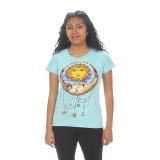 SUN MOON NO TIME T-SHIRT Cotton Sun Moon T-Shirt