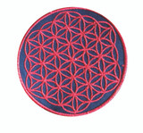 Flower Of Life Embroidered Small Patch 3 x 3