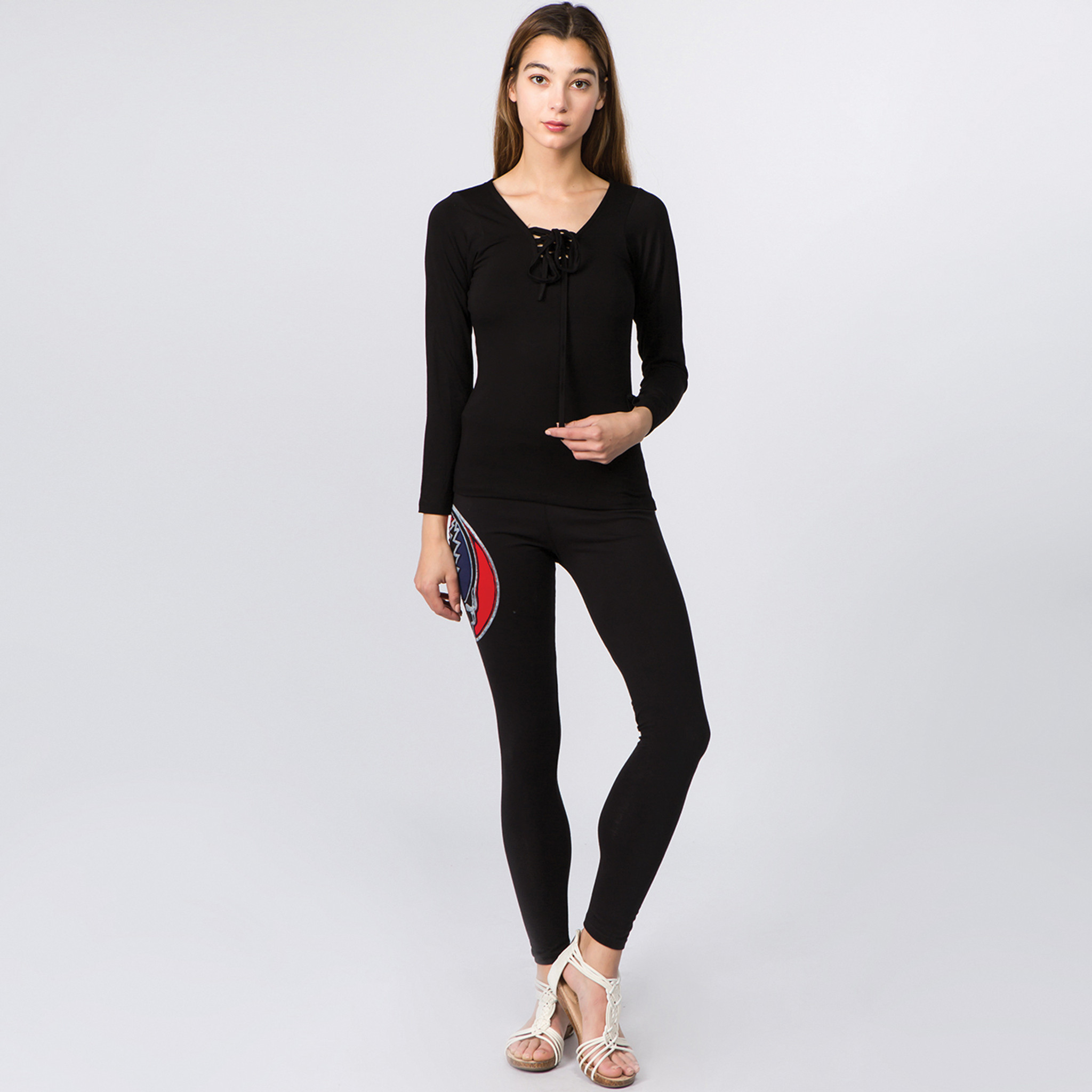 ALTHEA LEGGINGS Lycra Leggings With Cut Out Bolt SYF