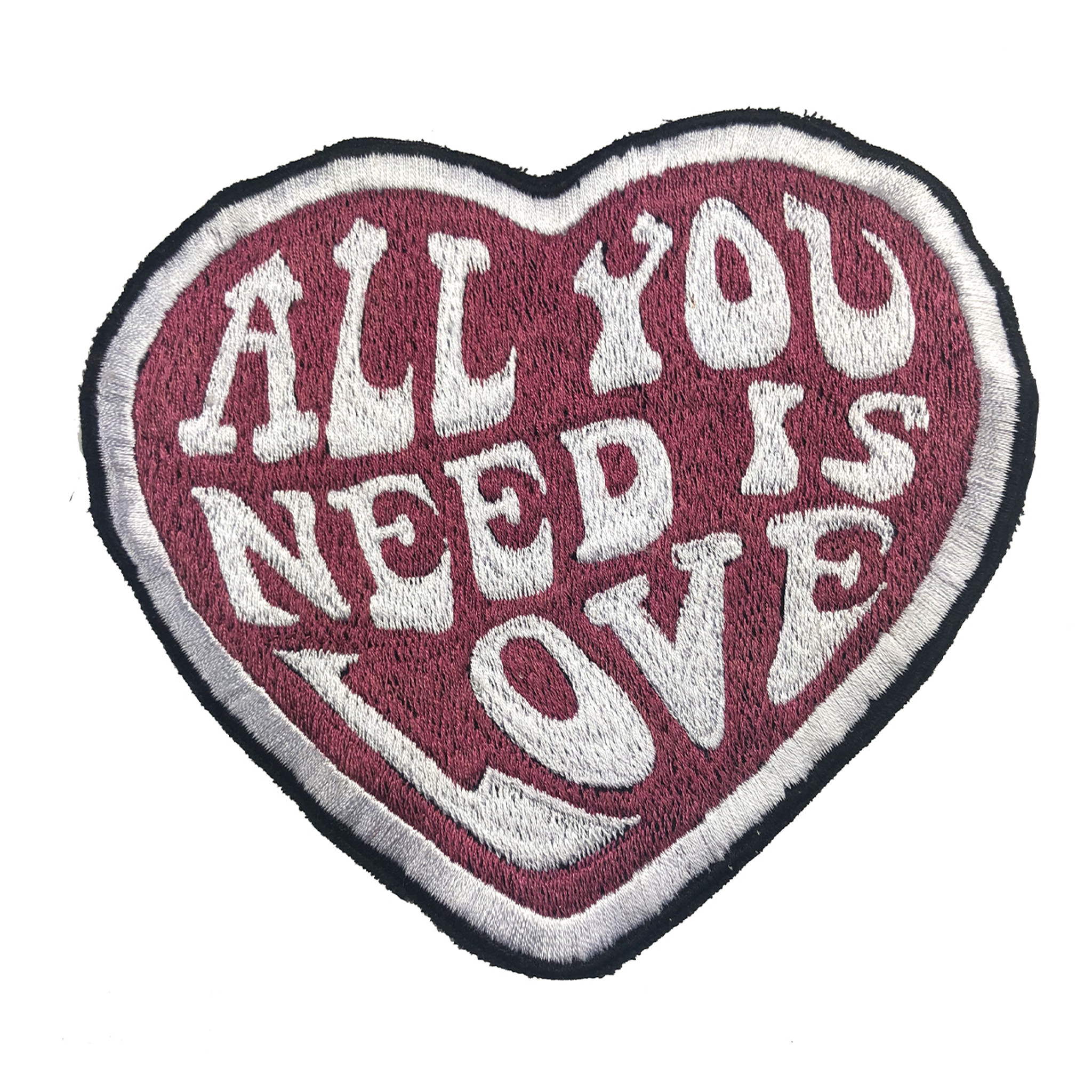 All You Need Is Love Embroidered Patch (6 inches)