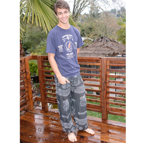 HARPER PANTS Lightweight Cotton Ram Nam Unisex Harem Trousers