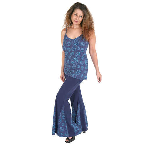 BLUEBELL PANTS- Cotton Lycra Pants with Bolt, Bear or SYF Print Panels