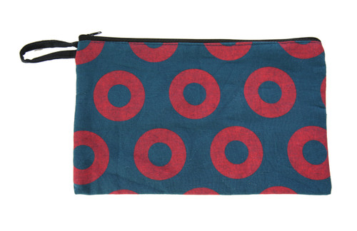 Cotton Phish Donut Print Coin Purse 6X4