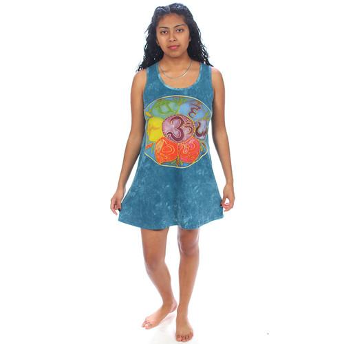 OHM MANDALA NO TIME DRESS Cotton Ohm Mandala Dress