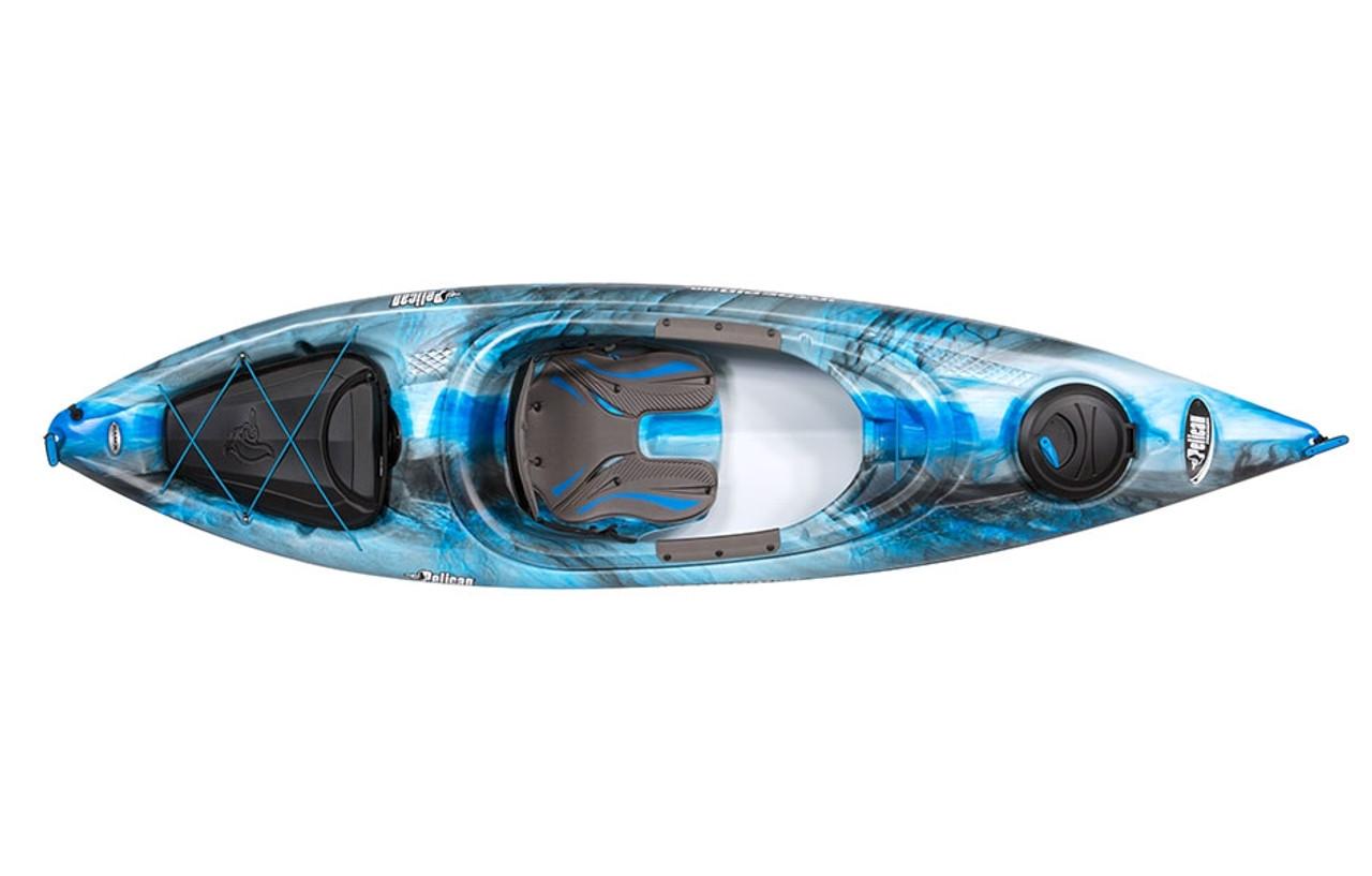 Pelican Kayak Round Quick Lock Hatch Complete  Electric Blue