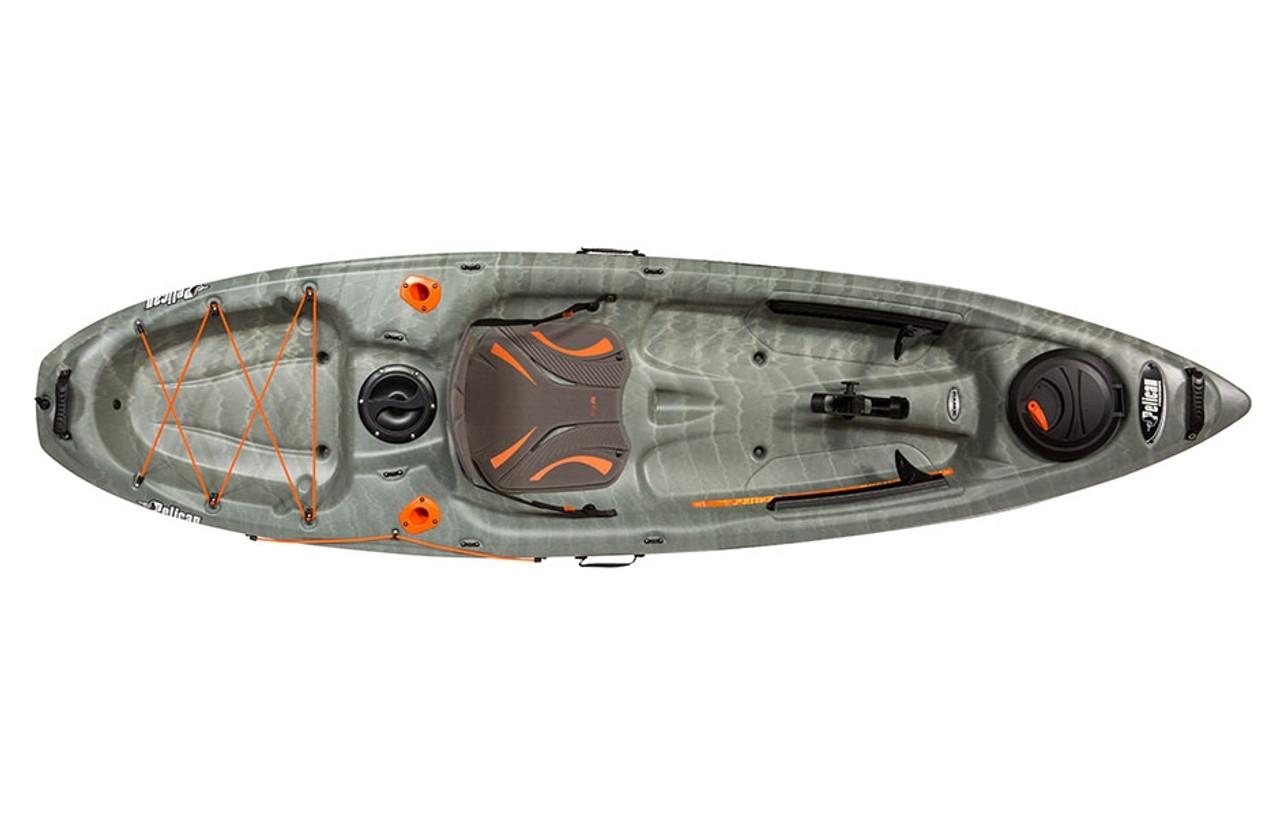 Pelican Kayak Round Quick Lock Hatch Complete  Bright Orange