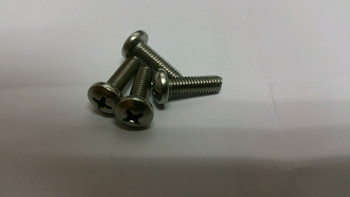 Stainless Steel Kayak Bolt. Size # 10-32 x 3/4 SS Pan Phil