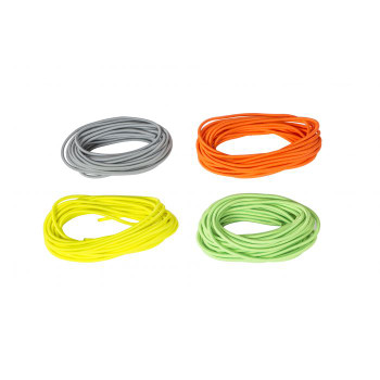 "Colorful Bungee Cord   1/4"" x 30' Coil  in   SILVER"