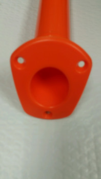 Kayak Flush Mount Rod Holder Orange