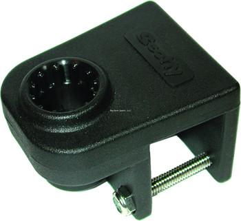 "Scotty 0243-BK  Rail Mount Adapter Black 1-1/4"" Square Rail"