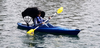 Kybrella Bimini top for Kayaks. For Kayakers up to 6'