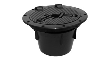 "Malibu Kayaks 6"" Round Hatch,  Hinged Lid with Storage Bucket"