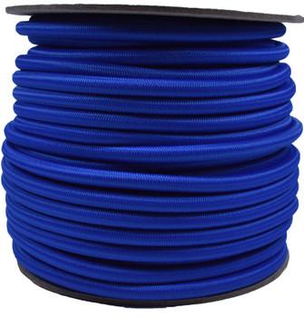 "Bungee / Shock Cord  1/4 ""   Royal BLUE  Price per foot"