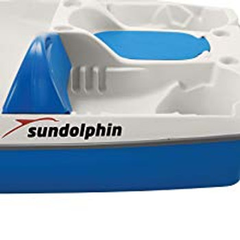 Sundolphin Slider Pedal Boat Replacement Seat Back. TEAL
