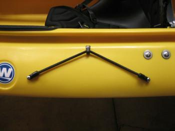 """Kayak Bungee Paddle Holder  20"""""""