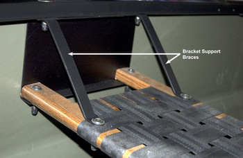 Bracket Support Braces, Sport Canoes