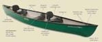 Old Town Canoe Saranac 160 Canoe Decal