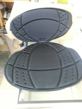 Pelican Kayak Seat Back and Cushion without Back Buckle