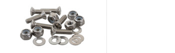 "Sealect Designs Machine Screw Pack   8/32 x 1""   OH"