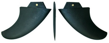 Bic Sports Thruster Fins, Set -10.5cm