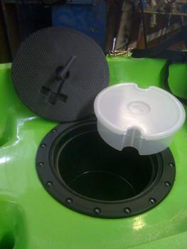 """Cobra Kayak Hatch, 10"""" Round, Complete"""