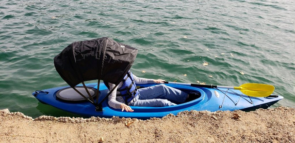Kybrella Bimini top for Kayaks. For Kayakers up to 6'   NEW for 2019 !