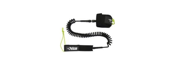 Pelican SUP Leash, 11' Coiled.