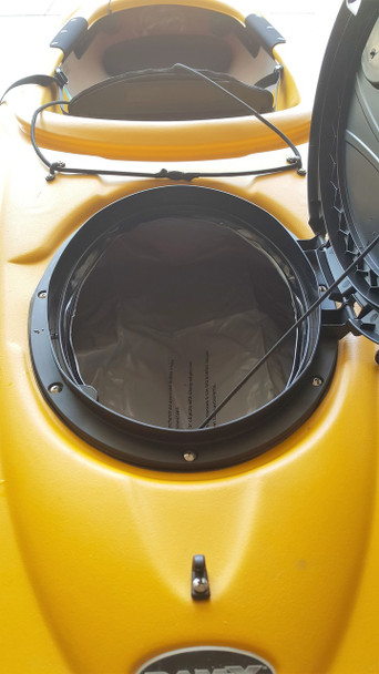 Pelican Helliptical Hatch Cover Orange Handle