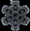 STEEL Rage 6  Snowmobile Single Stage Screw-On Spider (non-HD)